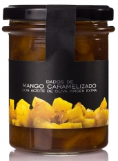 Dados de mango caramelizados La Chinata