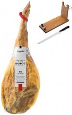 Jamón serrano duroc reserva Artysán entero + jamonero + cuchillo